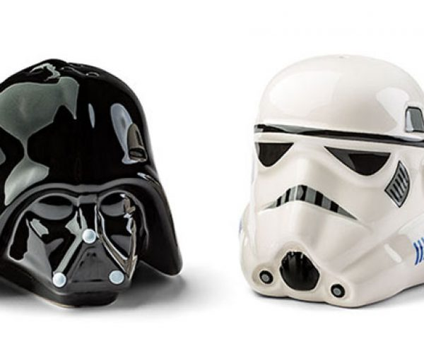 Vader and Stormtrooper Salt and Pepper Shakers: Force Season