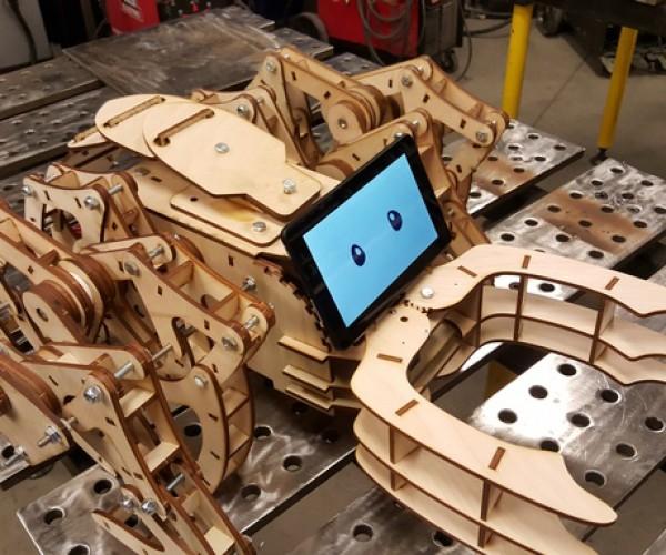 DIY Flat Pack Legged Robot: ZeGoBeast Electric