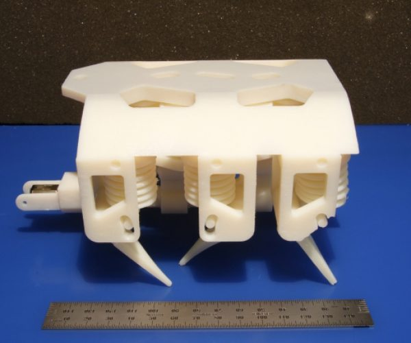 3D Printable Hydraulic Robots: Print, Pump, Play