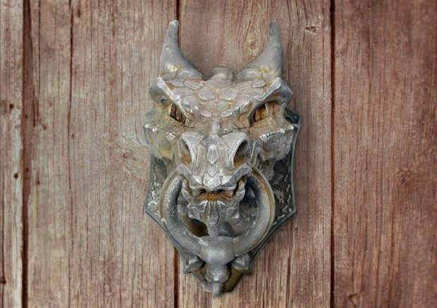 3d_printed_dragon_door_knocker_1