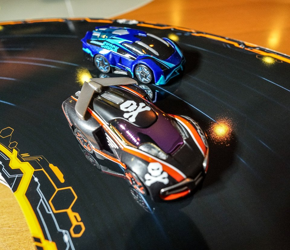 anki overdrive review slot car fun without slots or wires