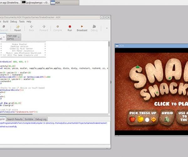 AppGameKit for Raspberry Pi: Emulate Developers