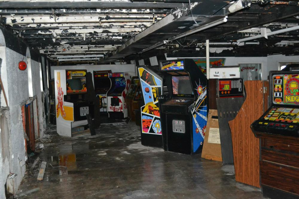 Classic Arcade Games Saved From Derelict Cruise Ship Technabob - Cruise ship building games