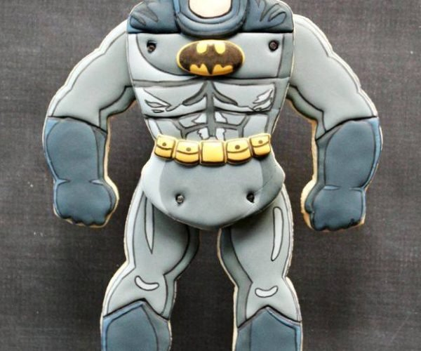 This Batman Cookie Is Articulated: Holy Shoulder Sockets Batman!