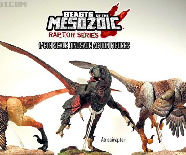 Scientifically Accurate Dinosaur Action Figures: Beasts of the Mesozoic