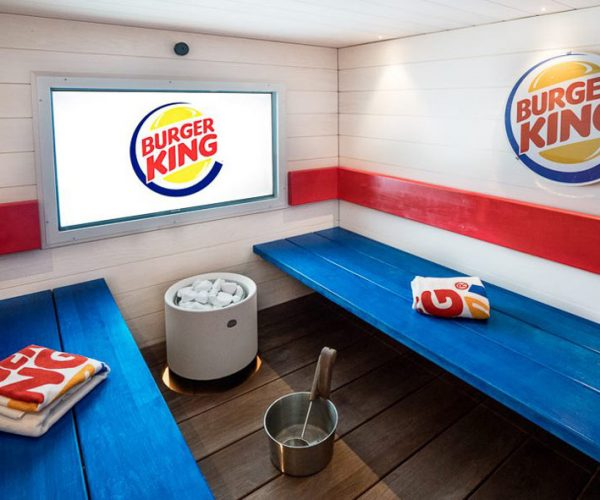 The Burger King Sauna Won't Flame-Broil Your Whopper