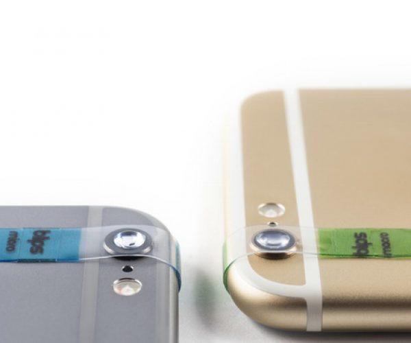 Stick-on Smartphone Macro & Micro Lenses: Blips