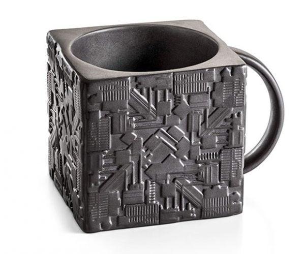 ad18d527630 Star Trek Borg Cube Coffee Mug: Caffeine Resistance is Futile