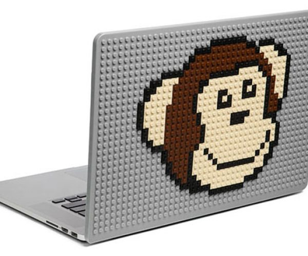 Brik Books Build-on MacBook Cover Adds Glorious Blocky Bulk
