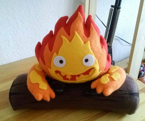 This Calcifer Plush Will Make You Feel Warm and Fuzzy