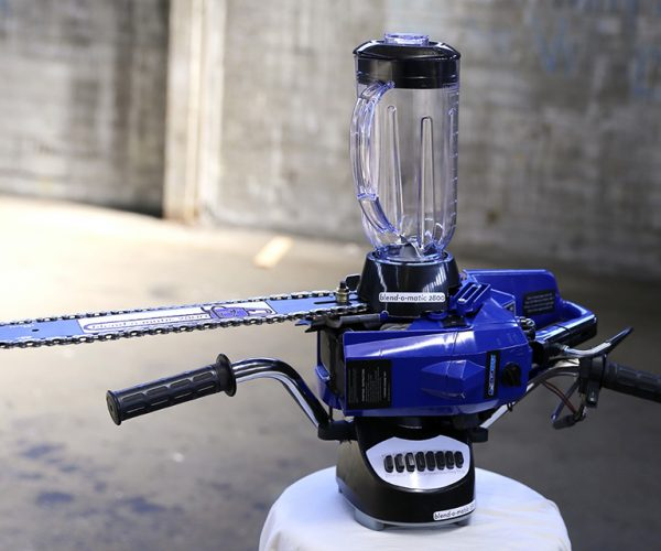 DIY Chainsaw Blender: Drink Rising