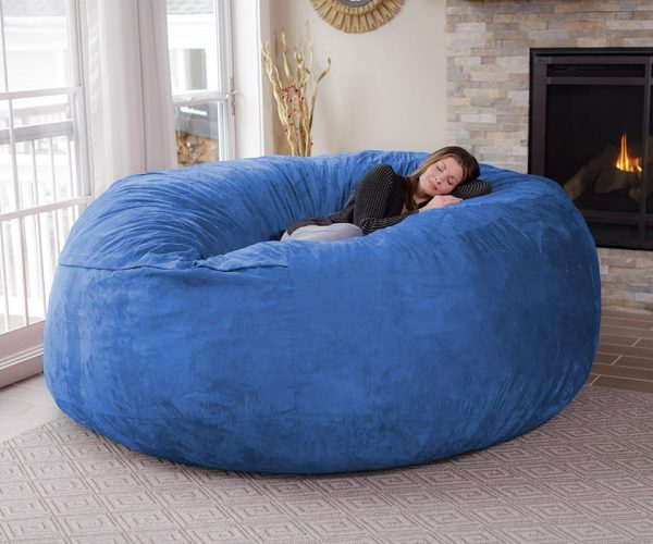 The Chill Bag is an Eight-Foot Bean Bag Chair