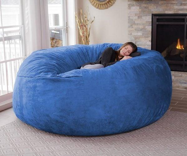 The Chill Bag is an Eight-Foot Bean Bag Chair