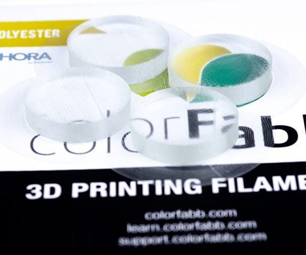 ColorFabb HT Clear Filament Lets You 3D Print Transparent Objects: Fresh Prints