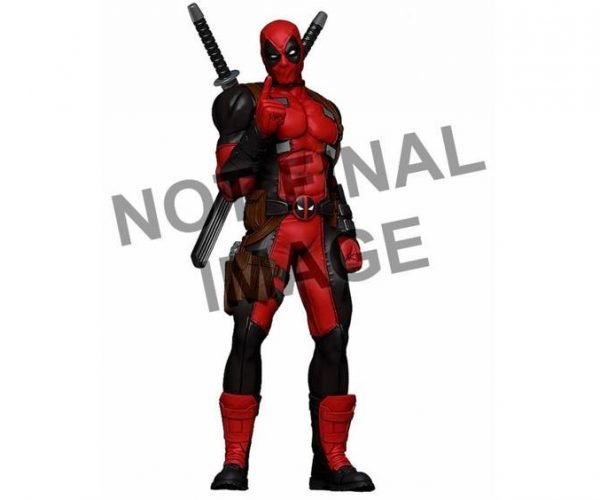 Deadpool Life-Size Replica Can\