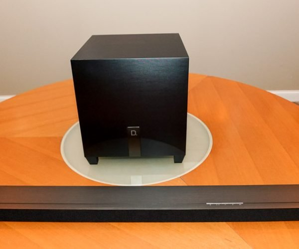 Review: Definitive Technology W Studio Micro 3.1 Soundbar and Subwoofer