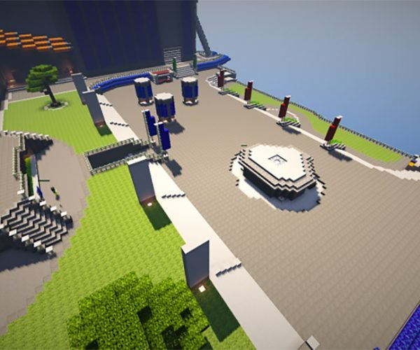 Geek Recreates Destiny in Minecraft
