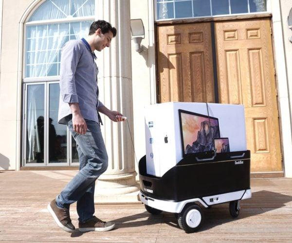 DonkiBot Auto-follow Trolley Robot: BigDonk