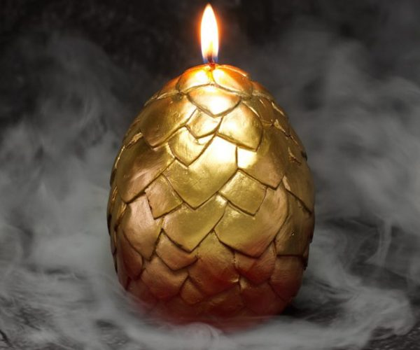 These Game of Thrones Inspired Candles Hatch Baby Dragons