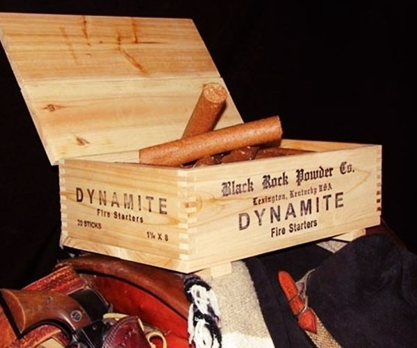 Start Your Campfire with Dynamite!
