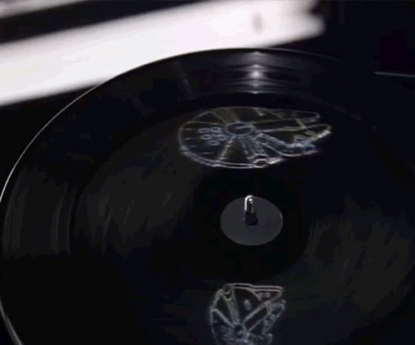 The Force Awakens Soundtrack on Vinyl Has Holograms