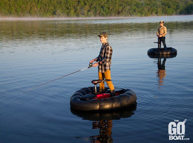 The goboat is a boat for your trunk technabob for Cool fishing boat accessories