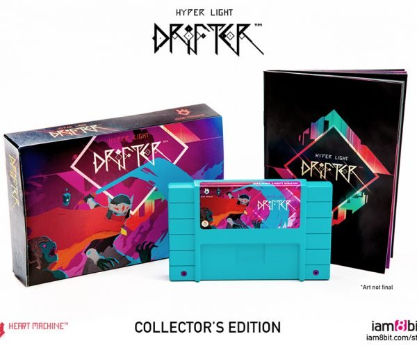 Hyper Light Drifter Collector's Edition Comes with SNES Cartridge: 2016-Bit