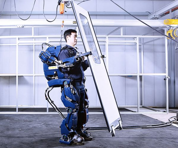 Hyundai Exoskeleton: Edge of Tomorrow, Today