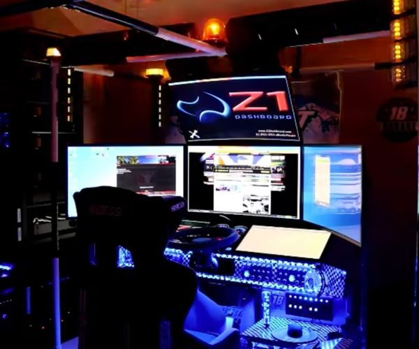 This iRacing Simulator Rig is Epic