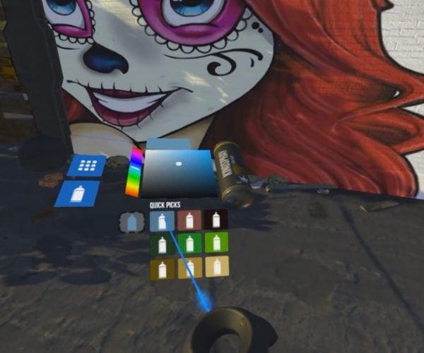 Kingspray Graffiti Simulator: VRanksy