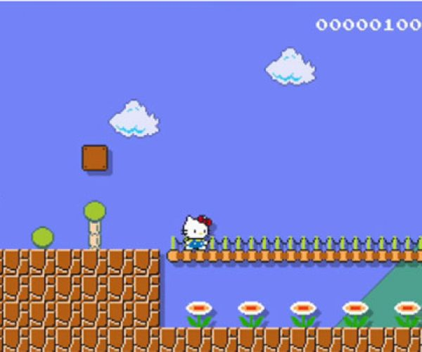 Super Mario Maker Gets the Hello Kitty Treatment