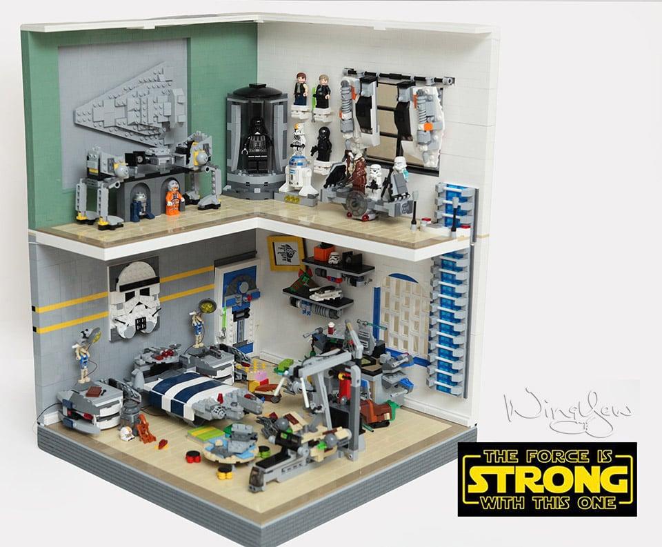 Lego Spiderman Malvorlagen Star Wars 1 Lego Spiderman: LEGO Star Wars Bedrooms: Before The Force Awakens