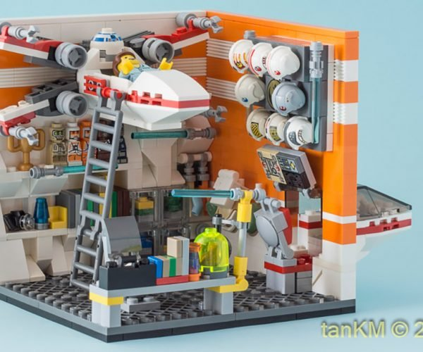 LEGO Star Wars Bedrooms: Before The Force Awakens