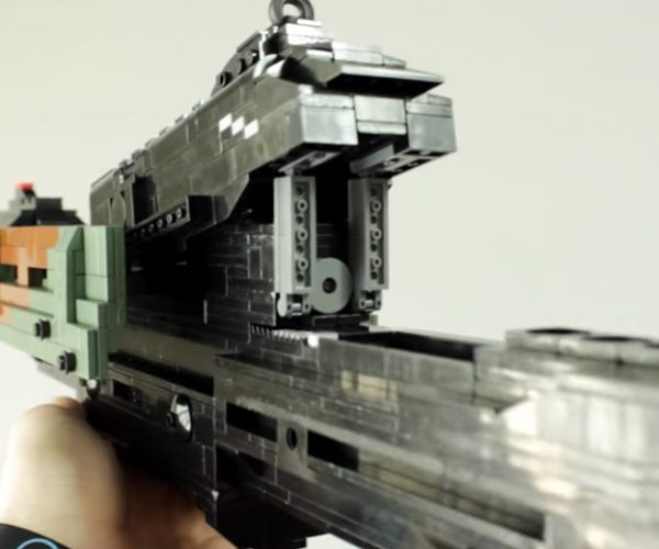 LEGO Black Ops 3 KRM-262 Shotgun: Pumped Up Bricks