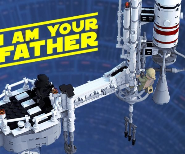 LEGO Star Wars I Am Your Father Concept Set: Join Me, and I Will Complete Your Toy Shelf