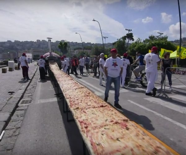 World's Longest Pizza Measures More Than a Mile Long