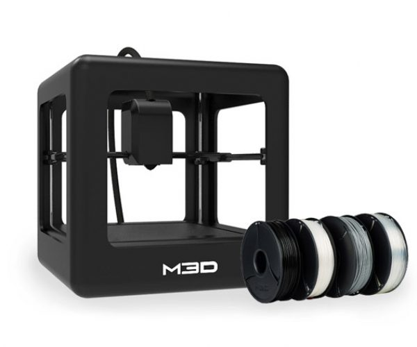 Deal: Get an M3D 3D Printer and 4 Rolls of Filament for $399!