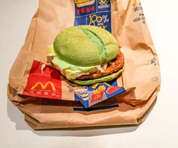 McDonalds China Gets a Green Angry Birds Sandwich