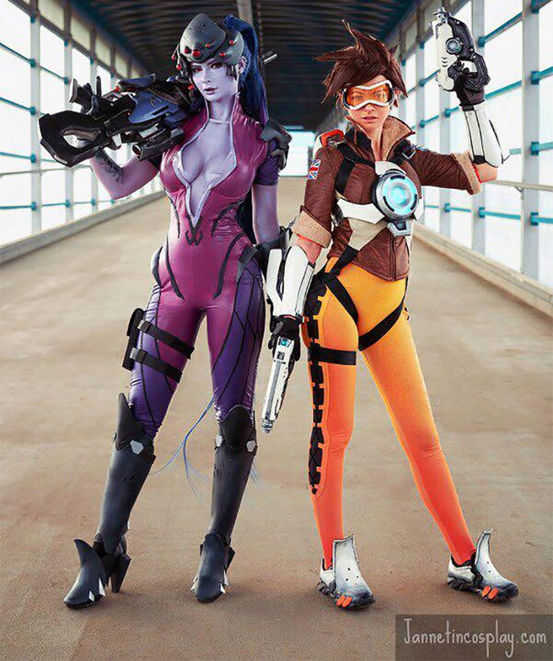 widowmaker cosplay porn
