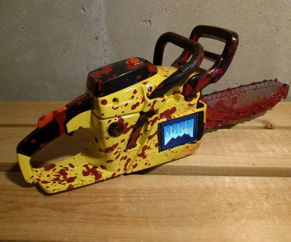 This Chainsaw Plays Doom