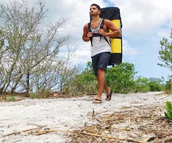 This Kayak Collapses So You Can Carry It like a Backpack