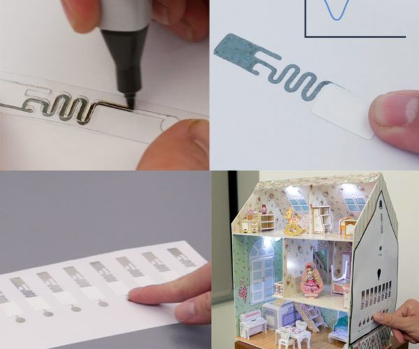 Disney PaperID Turns Paper into Input Devices Using RFID Tags: Fiber Haptic