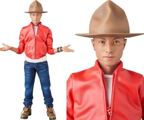 Pharrell Williams Action Figure is the Man in the Brown Hat