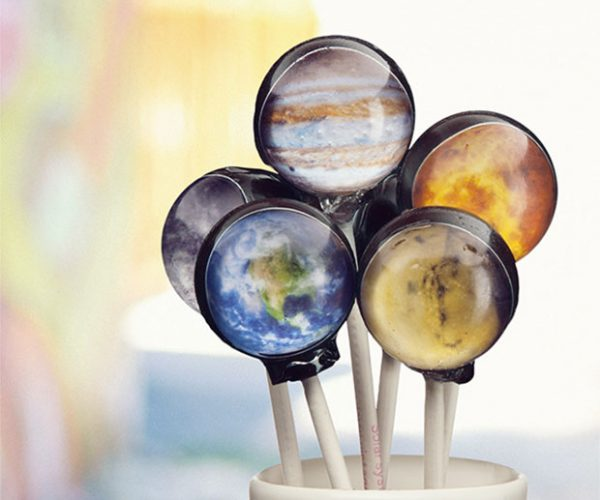 Planet Lollipops: How Many Licks Does It Take to Get to the Center of the Universe?