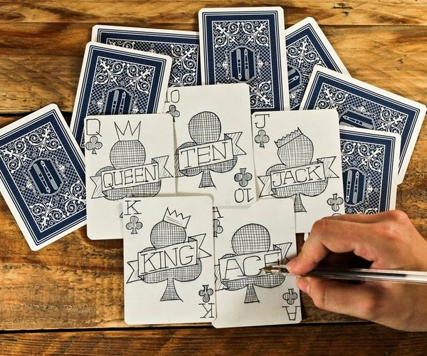 The Playing Card Notebook: Draw a Card