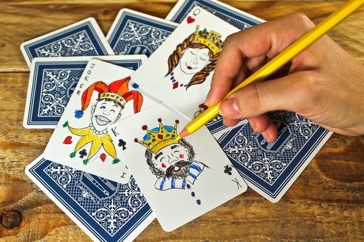 The Playing Card Notebook Draw A Card