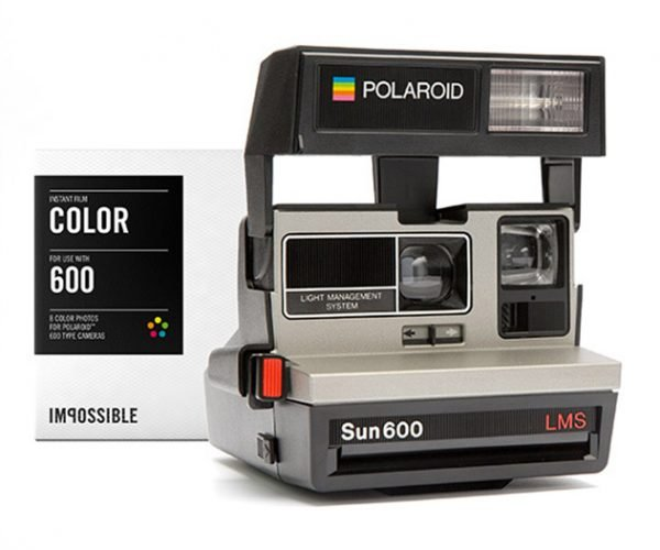 Deal: Polaroid 600 Camera & Color Film Pack