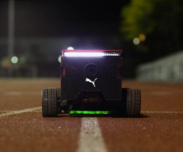 Puma BeatBot Robotic Pacer: Harder, Better, Faster, Bolter