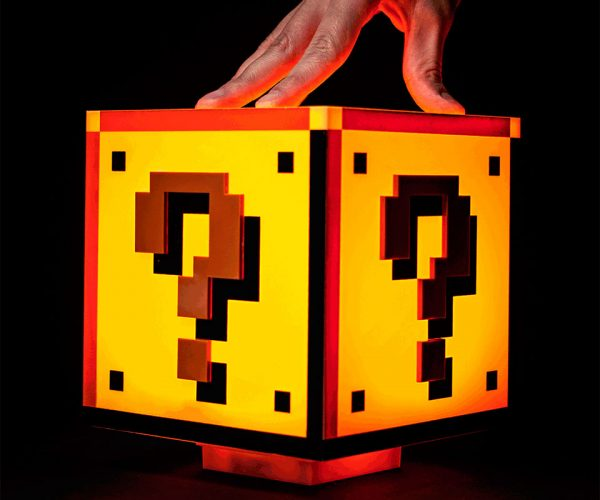 Mario Question Block Light Dispenses Light, Not Coins
