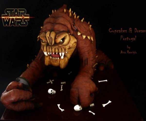Star Wars Rancor Cake: Eat It Before It Eats You